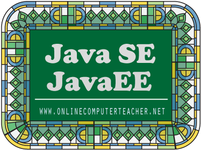 JavaSE and JavaEE courses Kolkata