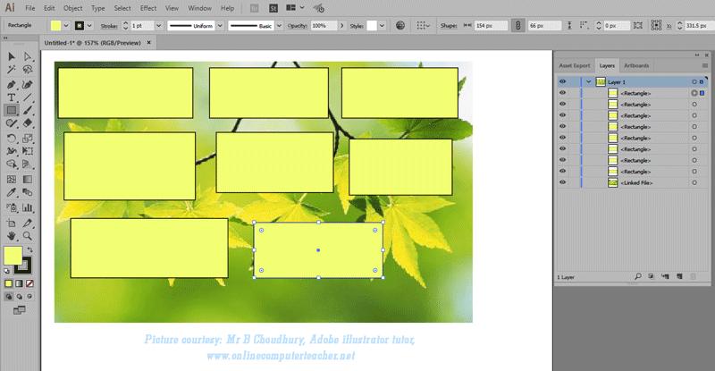 (3) Clipping Mask in Adobe illustrator