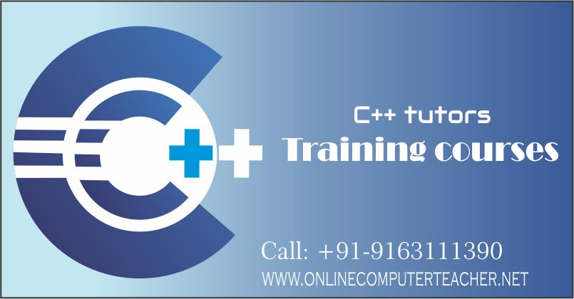 C++ teachers, home tutors, C C++ Java courses in Kolkata